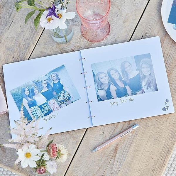 Livro de Assinaturas Team Bride em Madeira