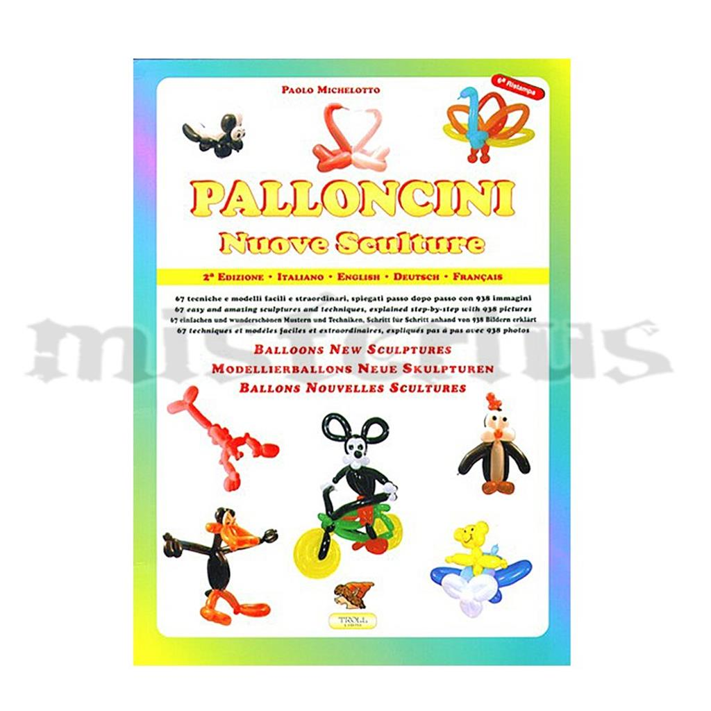 Livro Balões de Modelar Palloncini
