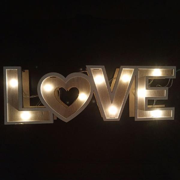 Love Decorativo com Luz
