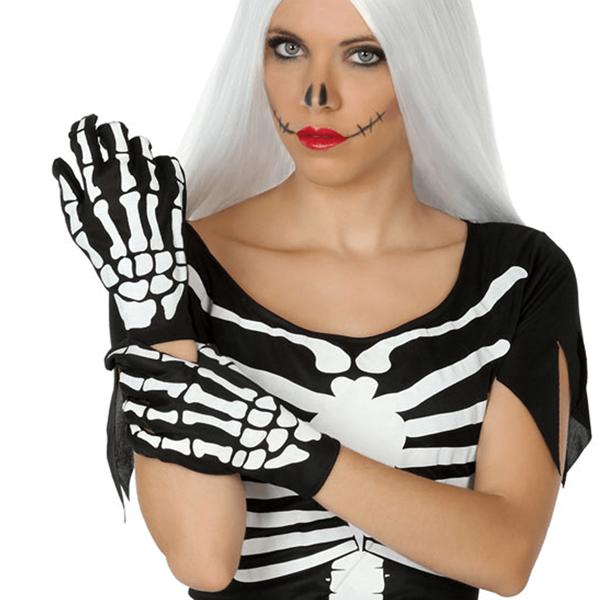 Luvas Esqueleto Curtas