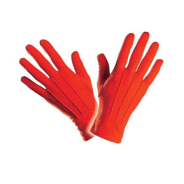 Luvas Vermelhas Curtas, Adulto