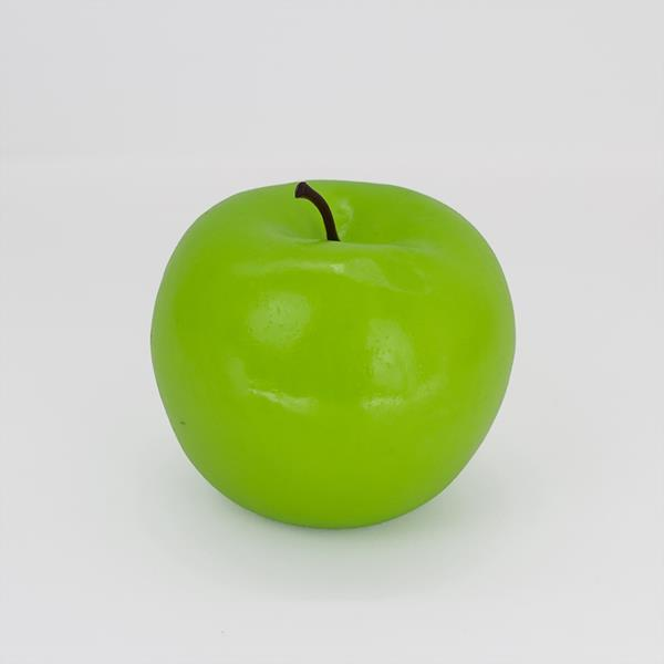 Maçã Verde Artificial de Plástico
