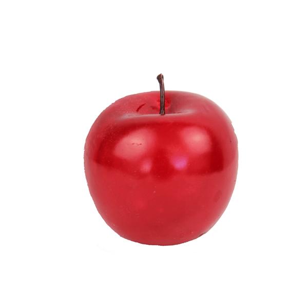 Maçã Vermelha em Plástico