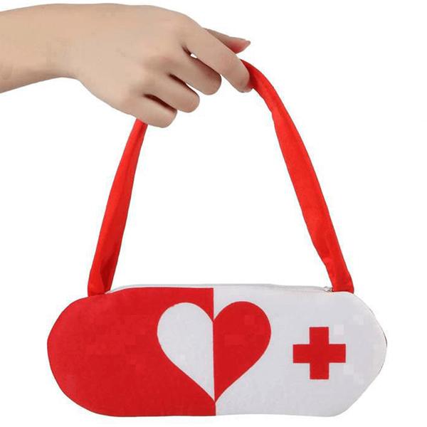 Mala Enfermeira Vermelha e Branca