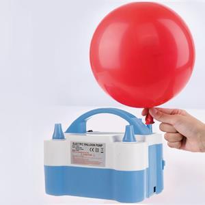 Máquina de Encher Balões Elétrica Azul Claro
