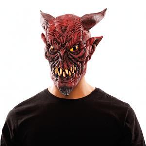 Máscara Belzebu Vermelha