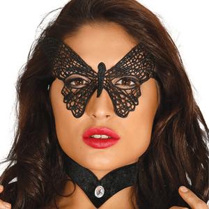 Máscara Borboleta Bordada