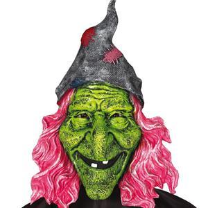 Máscara Bruxa Verde