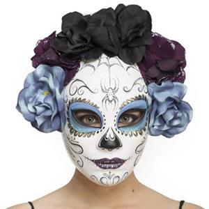 Máscara Catrina Dia dos Mortos, Adulto