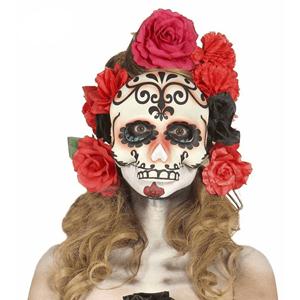 Máscara Caveira Meia Cara