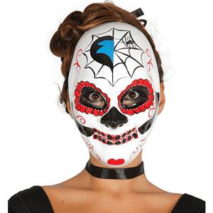 Máscara Caveira Mexicana Aranha