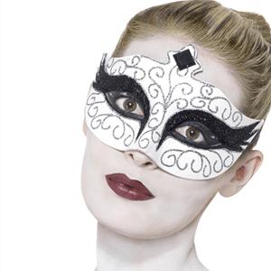 Máscara Cisne Negro em Plástico