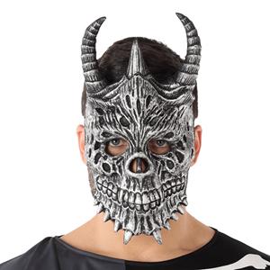 Máscara Crânio Diabo Halloween