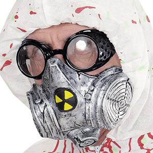 Máscara de Gás Radioativo em Látex