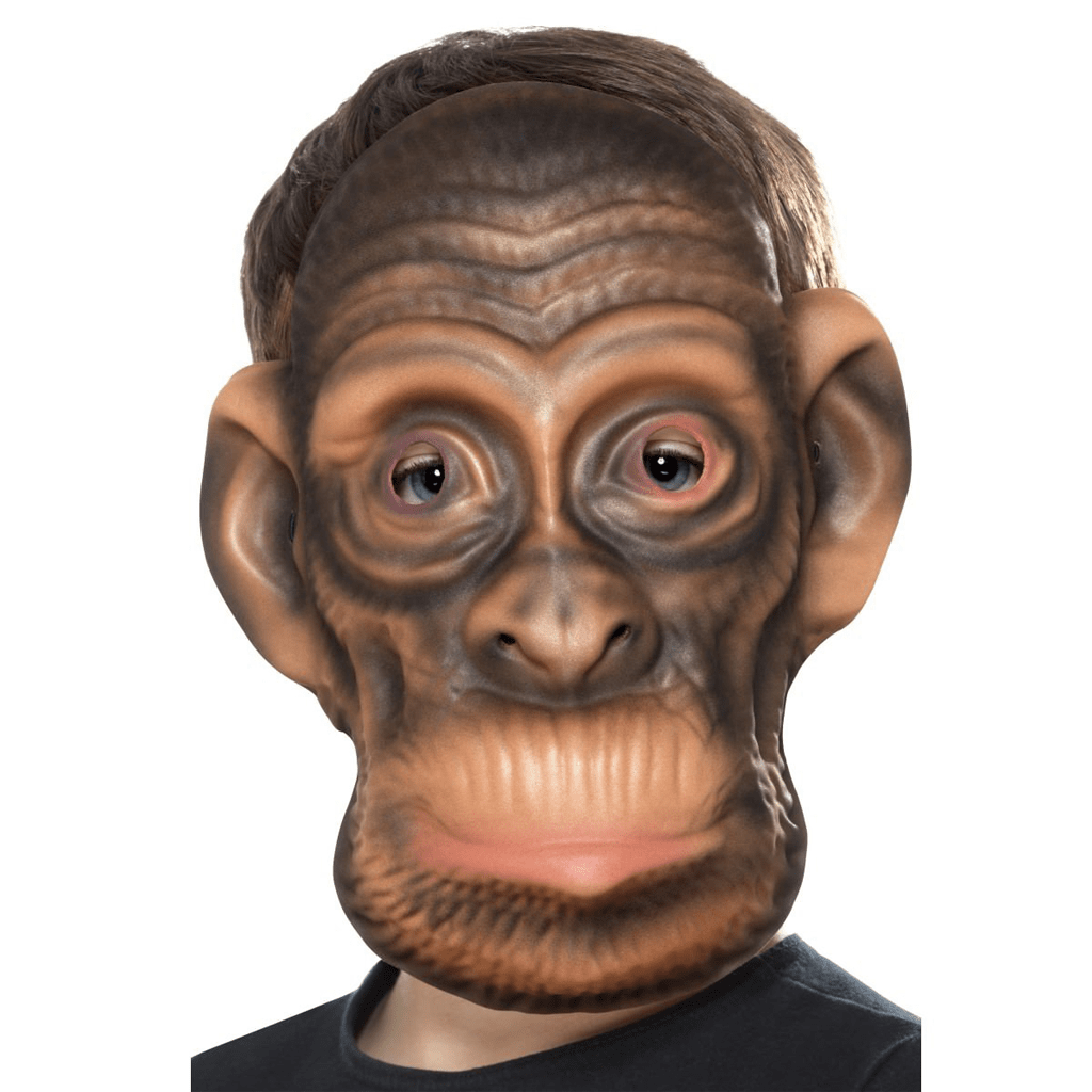 Máscara de Macaco Castanho em EVA