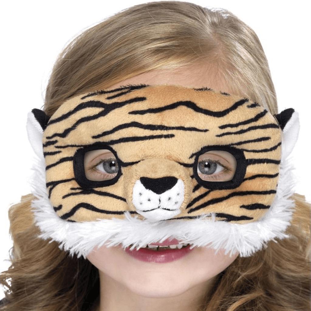 Máscara de Tigre com Pelo, Criança
