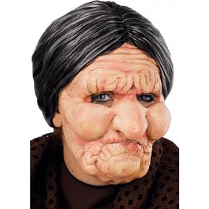 Máscara de Velha em Látex