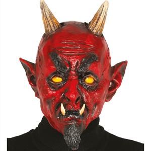 Máscara Diabo em Latex