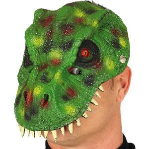Máscara Dinossauro Verde