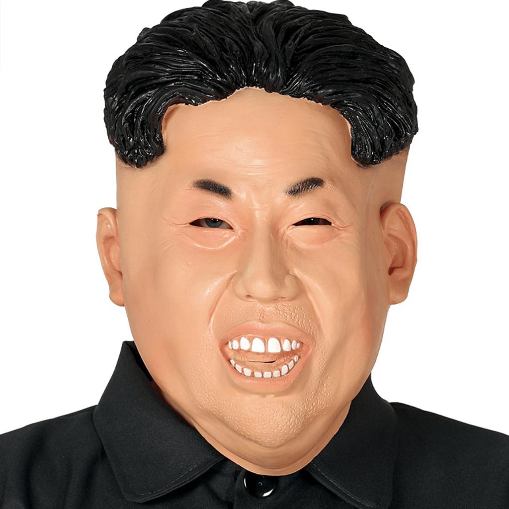 Máscara Ditador Coreano em Látex