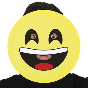 Máscara Emoji Feliz