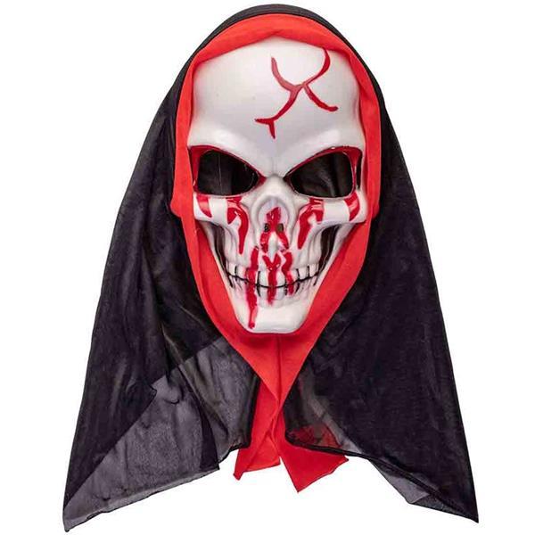 Máscara Esqueleto Ensaguentado