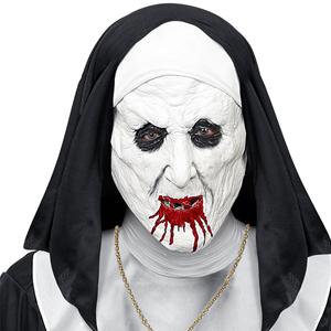 Máscara Freira Demoníaca em Látex