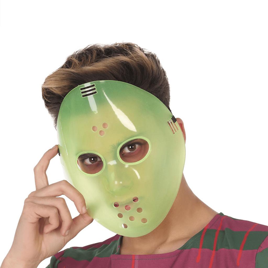 Máscara Jason Brilha no Escuro em Plástico