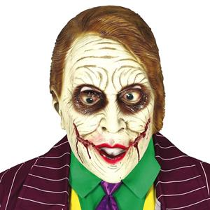 Máscara Joker Malvado, Adulto