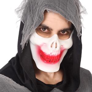 Máscara Maxilar Caveira Plástico