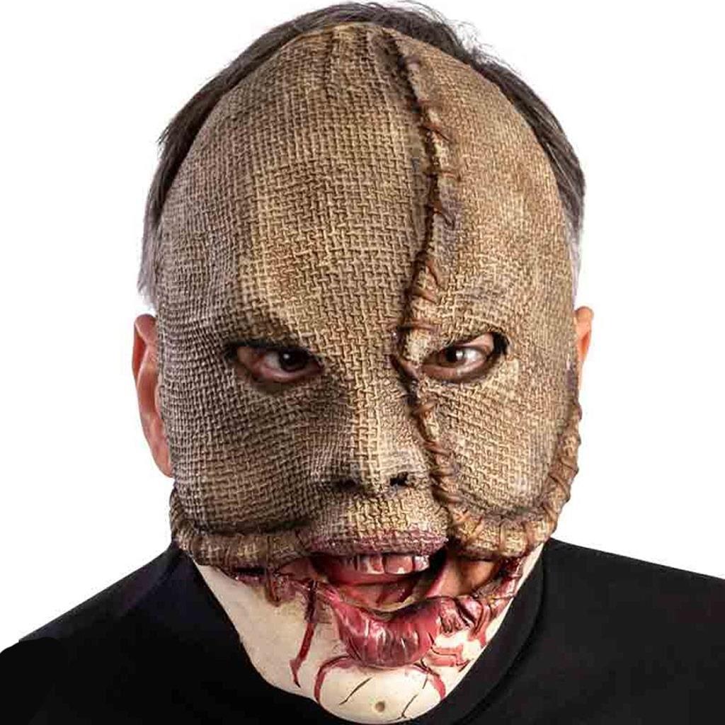Máscara Monstro com Boca Ensaguentada