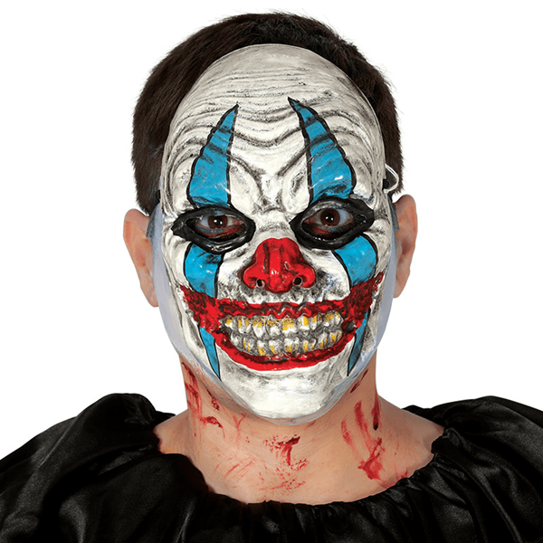 Máscara Palhaço Assustador Sorridente