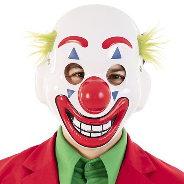 Máscara Palhaço Joker Sorridente