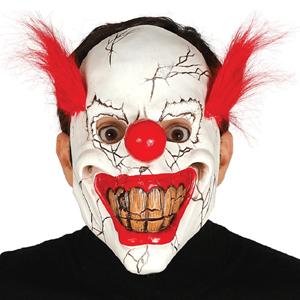Máscara Palhaço Sorridente