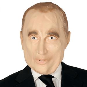Máscara Presidente Russo em Látex