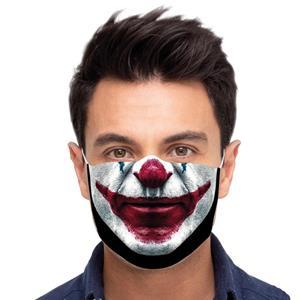 Máscara Reutilizável com Filtro Palhaço, Adulto