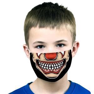Máscara Reutilizável com Filtro Palhaço, Criança