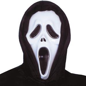 Máscara Scream Plástico Capucho