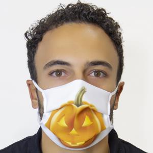 Máscara Social Abóbora