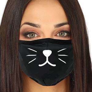 Máscara Bigodes de Gato