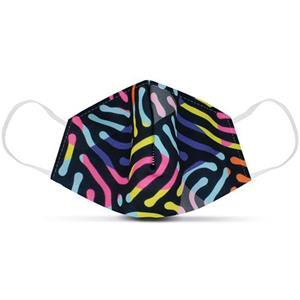 Máscara Social Padrões Neon