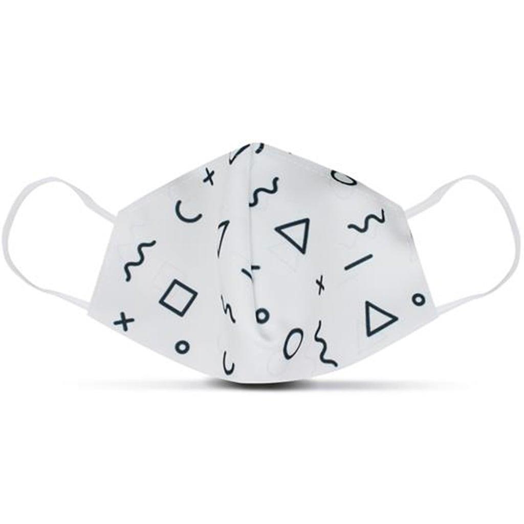 Máscara Social Padrões Símbolos