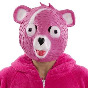 Máscara Urso Rosa Fortnite, Adulto
