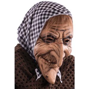 Máscara de Velha Nariguda Látex