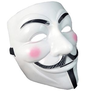 Máscara Vendetta V de Vingança (original)