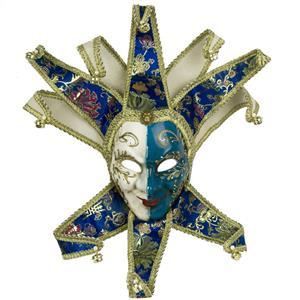 Máscara Veneziana Joker Azul