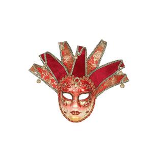 Máscara Veneziana Vermelha