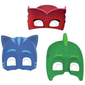Máscaras Pj Masks, 6 unid.
