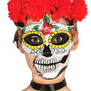 Mascarilha Caveira Mexicana