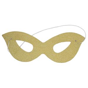 Mascarilha Dourada em Cartão